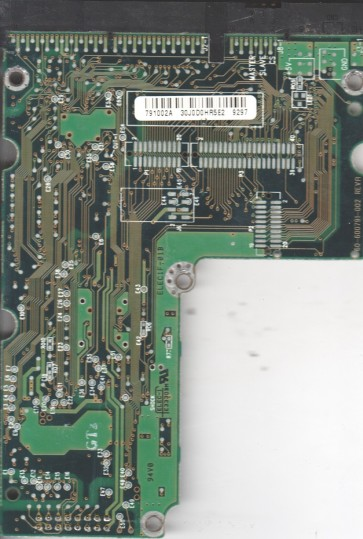 AC14300-00RTT1, 61-600791-002 A, WD IDE 3.5 PCB