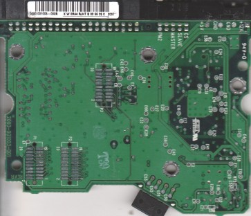 100BB-75AUA1, 0000 001003-002B, WD WDIDE 3.5 PCB