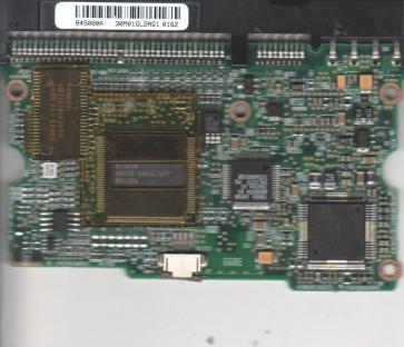 WD136BA-00AKA1, 61-600845-000 A, WD IDE 3.5 PCB