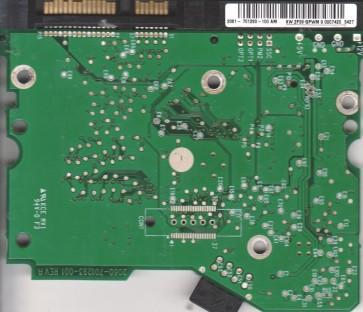 WD400BD-75JMC0, 2061-701293-100 AM, WD SATA 3.5 PCB