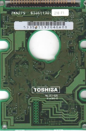 MK1824FCV, HDD2512 C ZE01, B36011302017-A, Toshiba 341MB IDE 2.5 PCB