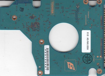 MK4025GAS, HDD2190 F ZE01 S, G5B000465000-A, Toshiba 40GB IDE 2.5 PCB