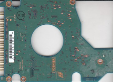 MK6022GAX, HDD2184 F ZE01 T, G5B000336000-B, Toshiba 60GB IDE 2.5 PCB