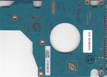 MK6025GAS, HDD2189 F ZK01 S, G5B000465000-A, Toshiba 60GB IDE 2.5 PCB