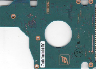 MK8026GAX, HDD2191 F ZE01 S, G5B000465000-A, Toshiba 80GB IDE 2.5 PCB