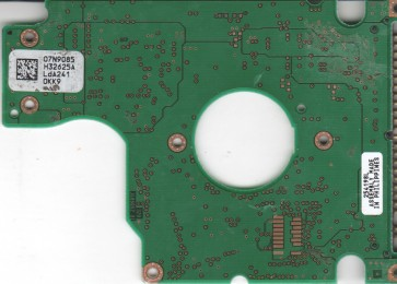 IC25N040ATCS04-0, 07N9085 H32625A, PN 07N8665, IBM 40GB IDE 2.5 PCB