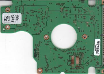 IC25N020ATDA04-0, 07N7585 F80183D, 07N7915, H32162, IBM IDE 2.5 PCB