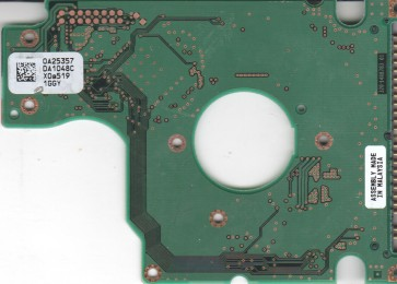 HTS424030M9AT00, 0A25357 DA1048C, PN 13G1495, Hitachi 30GB IDE 2.5 PCB