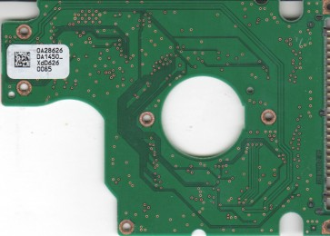 HTS541616J9AT00, 0A28626 DA1450_, PN 0A50682, Hitachi 160GB IDE 2.5 PCB