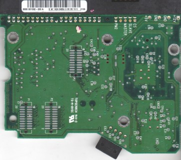 WD1000BB-22CCB0, 0000 001092-200 A, WD IDE 3.5 PCB