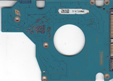 MK4034GSX, HDD2D39 D ZK02 T, G5B001590000-A, Toshiba 40GB SATA 2.5 PCB