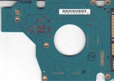 MK6034GSX, HDD2D35 B ZK01 T, G5B001355000-A, Toshiba 60GB SATA 2.5 PCB