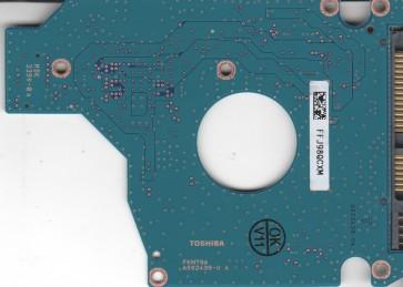 MK1655GSX, HDD2H25 V UL01 S, G002439-0A, Toshiba 160GB SATA 2.5 PCB