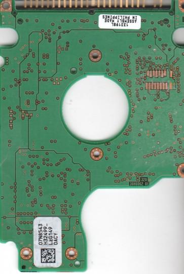 IC25N010ATCS04-0, 07N8543 H32499_, PN 07N8324, IBM 10.05GB IDE 2.5 PCB