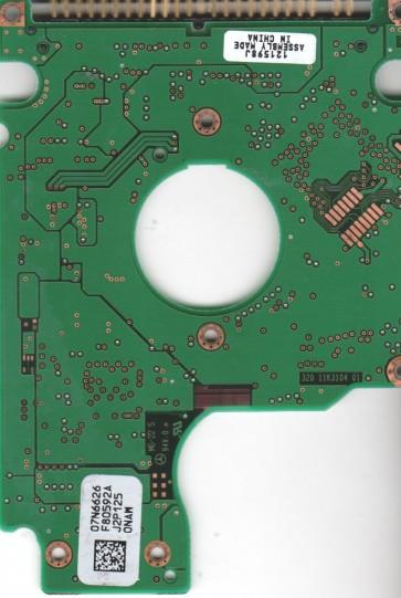 DJSA-220, 07N6626 F80592A, PN 07N5660, IBM 15GB IDE 2.5 PCB
