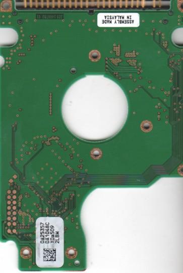 HTS424030M9AT00, 0A25357 DA1048C, PN 0A25962, Hitachi 30GB IDE 2.5 PCB