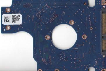 HTS725032A9A364, 0A71428 DA3005_, 0A73293, DA3247, Hitachi SATA 2.5 PCB