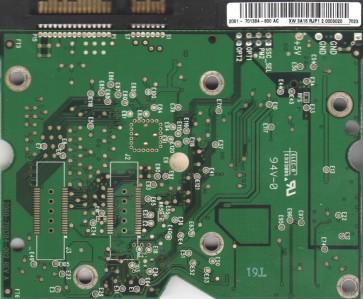 WD740ADFD-00NLR5, 2061-701384-800 AC, WD SATA 3.5 PCB