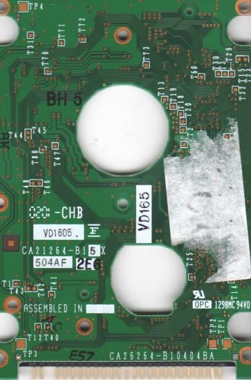 MHM2200AT, PN CA05429-B041, Fujitsu 20GB IDE 2.5 PCB