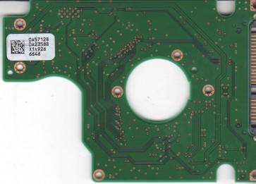 HTS543280L9A300, 0A57128 DA2358B, PN 0A57341, Hitachi80GB SATA 2.5 PCB