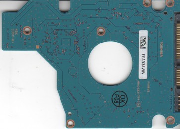 MK1652GSX, HDD2H03 B UK01 S, G002217A, Toshiba 160GB SATA 2.5 PCB