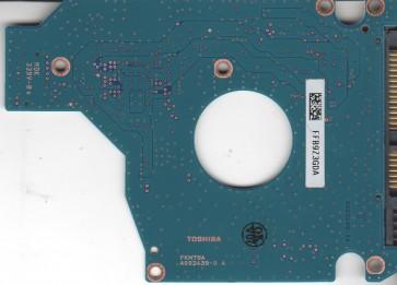 MK1655GSX, B0/FG011J, HDD2H25 E UL01 S, G002439-0A, Toshiba SATA 2.5 PCB