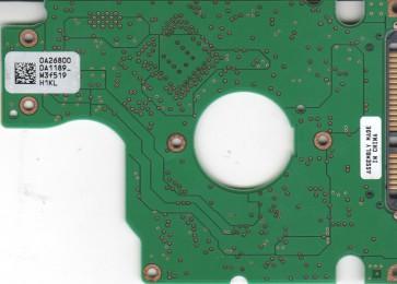 HTS541010G9SA00, 0A26800 DA1189_, PN 0A26930, Hitachi 100GB SATA 2.5 PCB