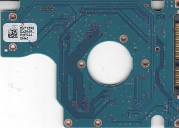 HTS545050B9A300, 0A71398 DA2969B, PN 0A57915, Hitachi 500GB SATA 2.5 PCB