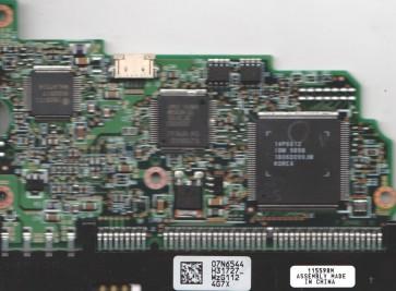 IC35L010AVER07-0, 07N6544 H31727, PN 07N7401, Hitachi 10GB IDE 3.5 PCB