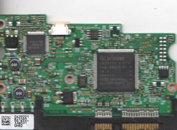HDS728080PLA380, 0A29221 BA1292_, PN 0A31048, Hitachi 80GB SATA 3.5 PCB