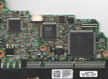 IC35L060AVV207-0, 07N9225 H69056_, PN 13G0222, Hitachi 60GB IDE 3.5 PCB