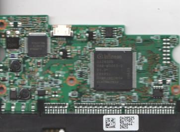HDT725050VLAT80, 0A29525 BA1790_, PN 0A33407, Hitachi 500GB IDE 3.5 PCB