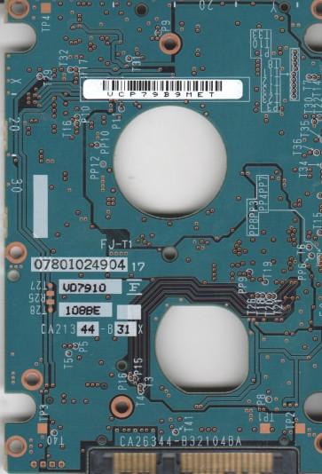 MHY2080BH, PN CP170892-01, Fujitsu 80GB SATA 2.5 PCB
