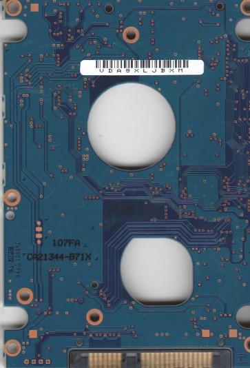 MHZ2080BH G2, PN CP224800-01, Fujitsu 80GB SATA 2.5 PCB