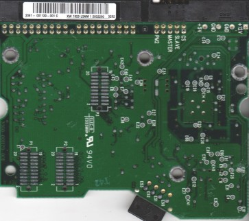WD400BB-75DEA0, 2061-001129-001 C, WD IDE 3.5 PCB