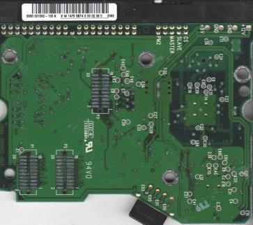 WD600BB-00CAA1, 0000-001092-100 K, WD IDE 3.5 PCB