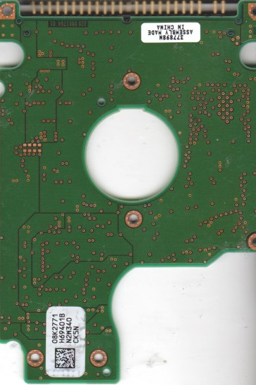 IC25N020ATMR04-0, PN 08K0851, 08K2771 H69401B, Hitachi 20GB IDE 2.5 PCB