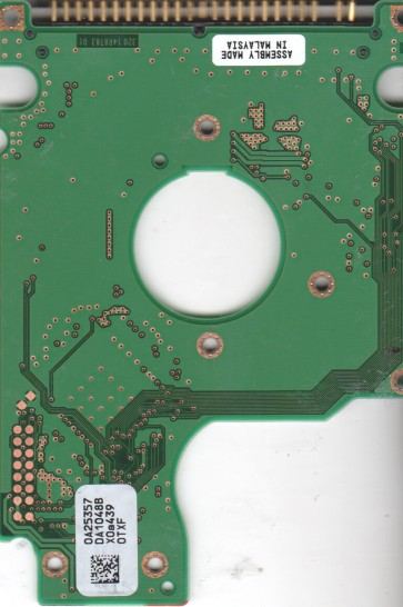 HTS424030M9AT00, 0A25357 DA1048B, 13G1495, DA1091, Hitachi IDE 2.5 PCB