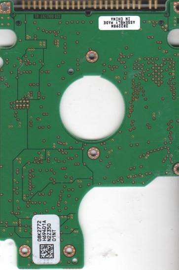IC25N060ATMR04-0, 08K2772 H69401A, PN 08K0863, Hitachi 60GB IDE 2.5 PCB