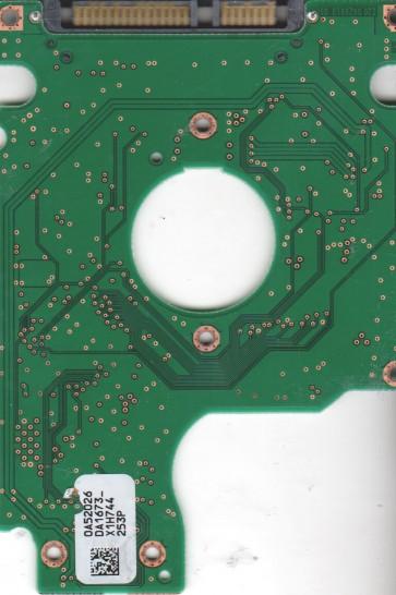 HTS541612J9SA00, 0A52026 DA1673_, PN 0A55732, Hitachi 120GB SATA 2.5 PCB