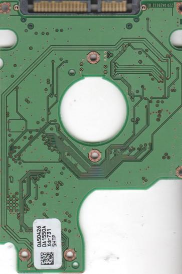 HTS541612J9SA00, 0A52026 DA1673_, PN 0A50519, Hitachi 120GB SATA 2.5 PCB