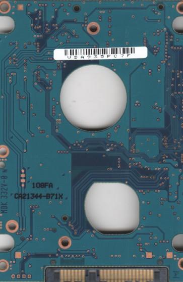 MHZ2160BH G2, PN CA07018-B38400PN, Fujitsu 160GB SATA 2.5 PCB
