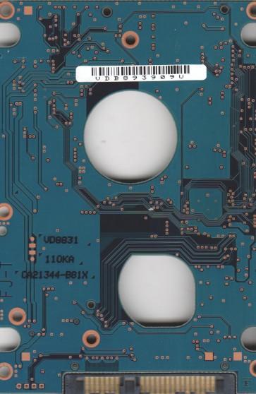 MHZ2250BH G1, PN CA07018-B34700SN, Fujitsu 250GB SATA 2.5 PCB