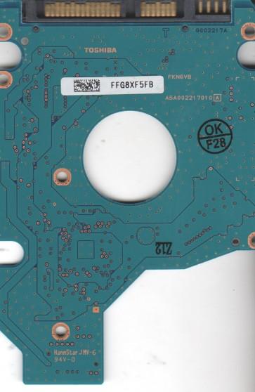 MK2552GSX, HDD2H02 C ZK01 S, G002217A, Toshiba 250GB SATA 2.5 PCB