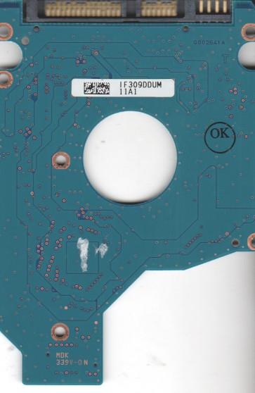 MK2565GSX, HDD2H84 G GL01 T, G002641A, Toshiba 250GB SATA 2.5 PCB