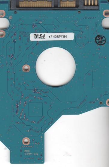 MK3265GSX, HDD2H83 B UL02 S, G002641A, Toshiba 320GB SATA 2.5 PCB
