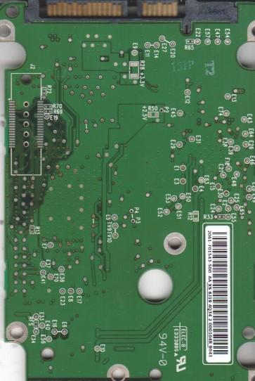 WD1600HLFS-60G6U0, 2061-701543-500 AA, WD SATA 2.5 PCB