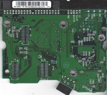 WD102BA-00AGA0, 0000 600841-001 ED2, WD IDE 3.5 PCB
