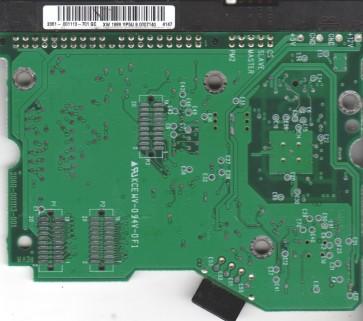 WD400EB-75CPF0, 2061-001113-701 GC, WD IDE 3.5 PCB