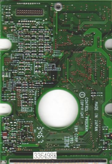 IBM-H2172-A2, 66G0284 D38366A-D, PN 84G1785, IBM 172MB IDE 2.5 PCB